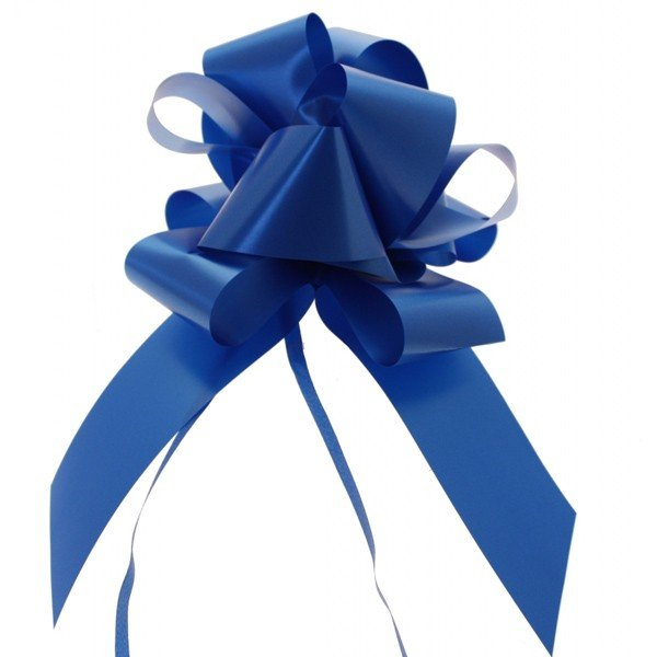 Midwest Ribbons 2 Inch Pull Bows - Royal Blue