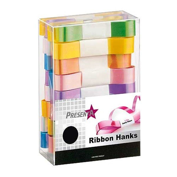 Midwest Ribbons Assorted Pearl Ribbon Hanks