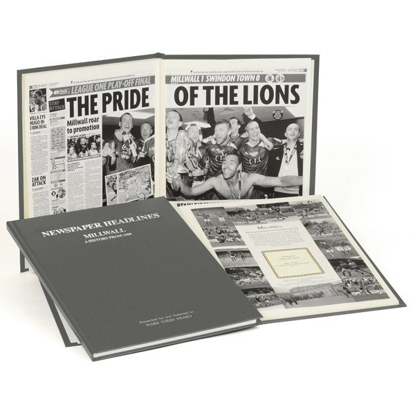 Millwall Grey Cover Football Book
