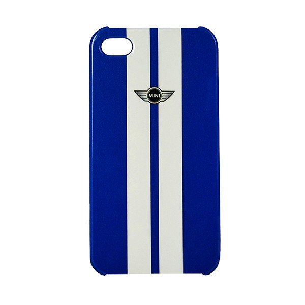 Mini iPhone 4/4S Hard Phone Case - Blue
