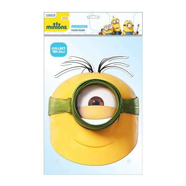 Minion Face Mask - Au Naturel