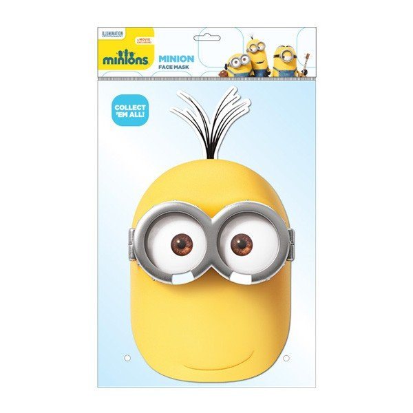 Minion Face Mask - Kevin