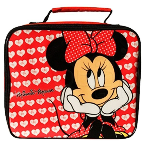 Minnie Hearts Lunch Bag