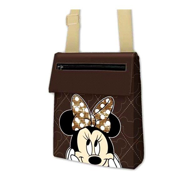 Minnie Mouse Action Pocket Shoulder Bag - Small