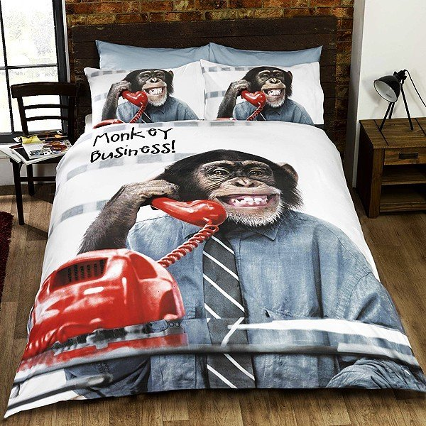 Monkey Business Single Duvet Set