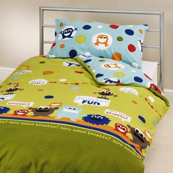Monster Print Single Duvet