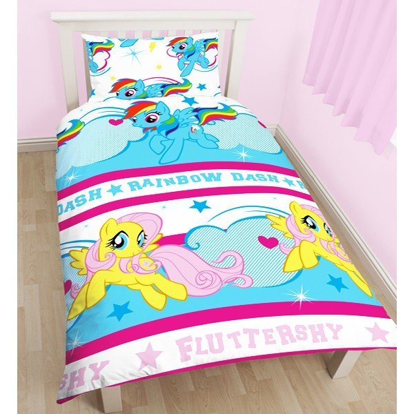 My Little Pony Reversible Single Duvet