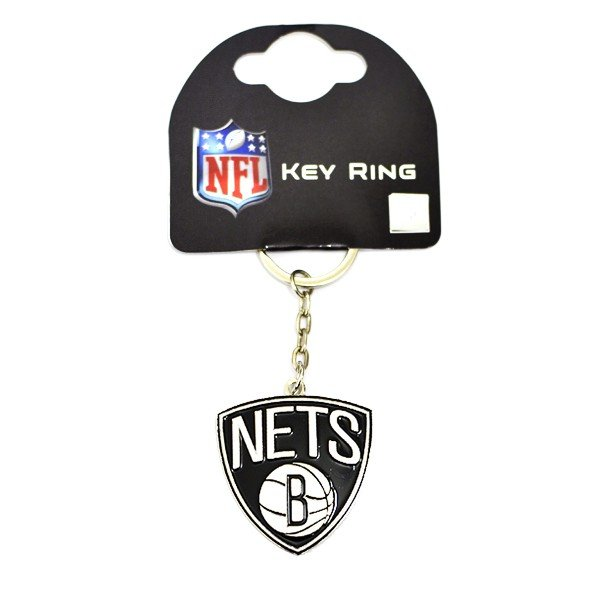 NBA Brooklyn Nets Crest Keyring