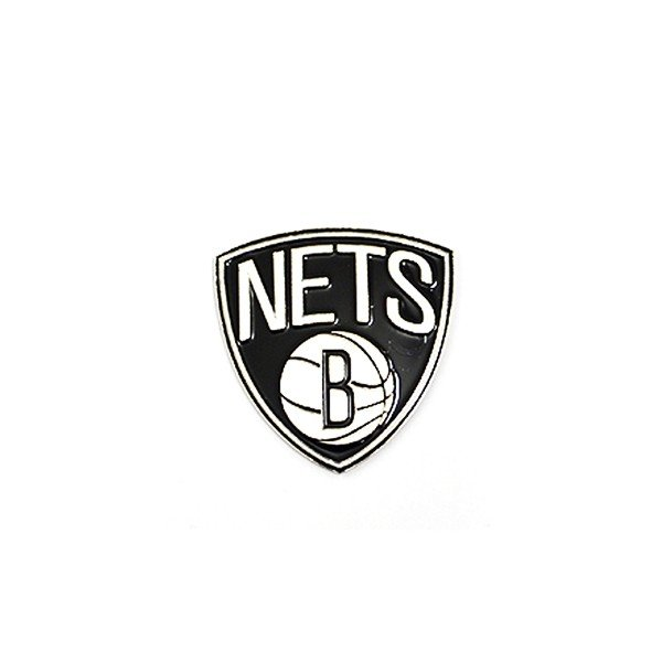 NBA Brooklyn Nets Crest Pin Badge