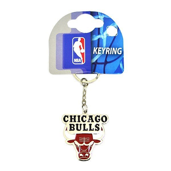 NBA Chicago Bulls Crest Keyring