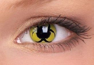 Biohazard Crazy Colour Contact Lenses (1 Year)