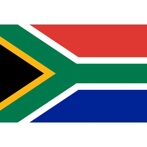 New South Africa National Flag