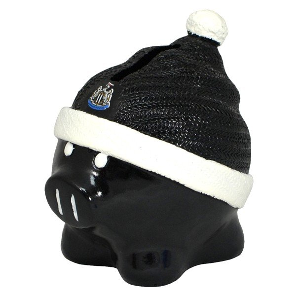 Newcastle United Beanie Piggy Bank