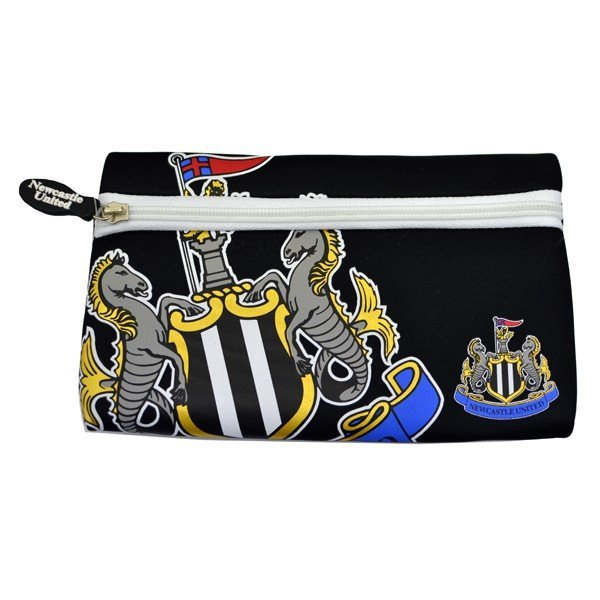 Newcastle United Big Logo Flat Pencil Case