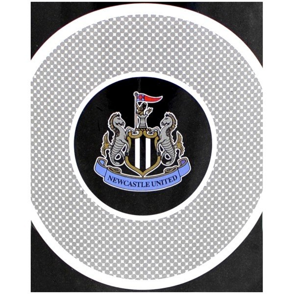 Newcastle United Bullseye Fleece Blanket