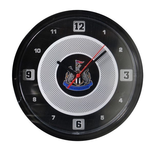 Newcastle United Bullseye Wall Clock