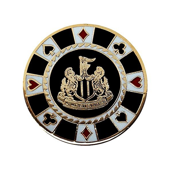Newcastle United Casino Golf Ball Marker