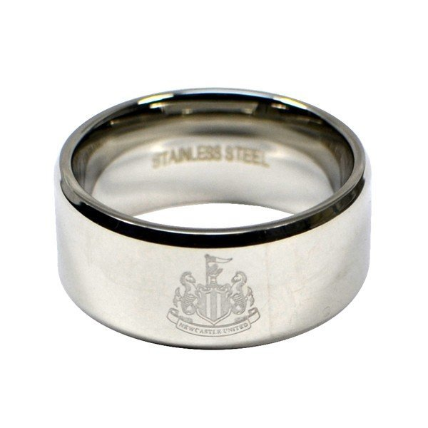 Newcastle United Crest Band Ring - Small
