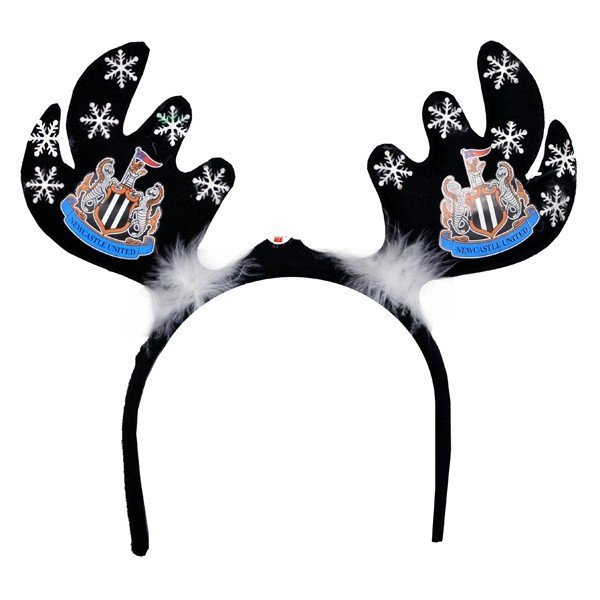 Newcastle United Flashing Xmas Antlers Headband