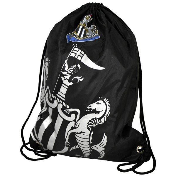 Newcastle United Foil Print Gym Bag