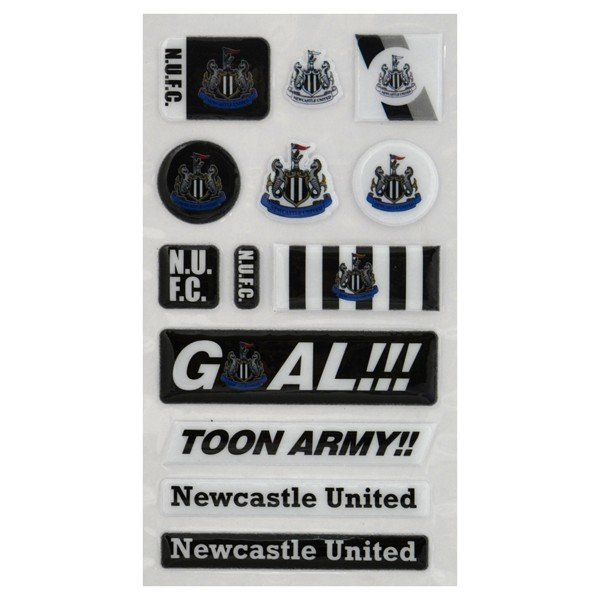 Newcastle United Fun Bubble Sticker Set