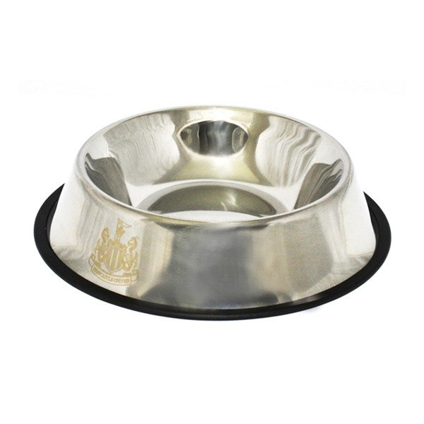Newcastle United Metal Dog Bowl