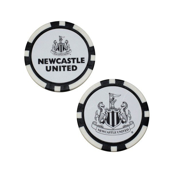 Newcastle United Poker Golf Ball Marker - 2PK