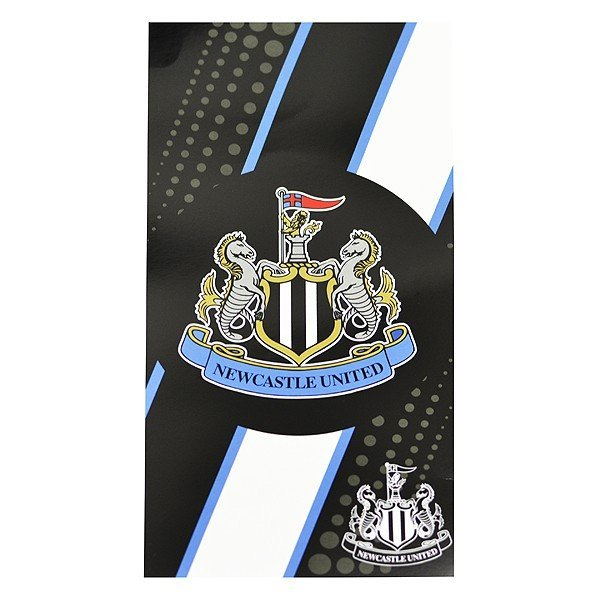 Newcastle United Stripe Beach Towel