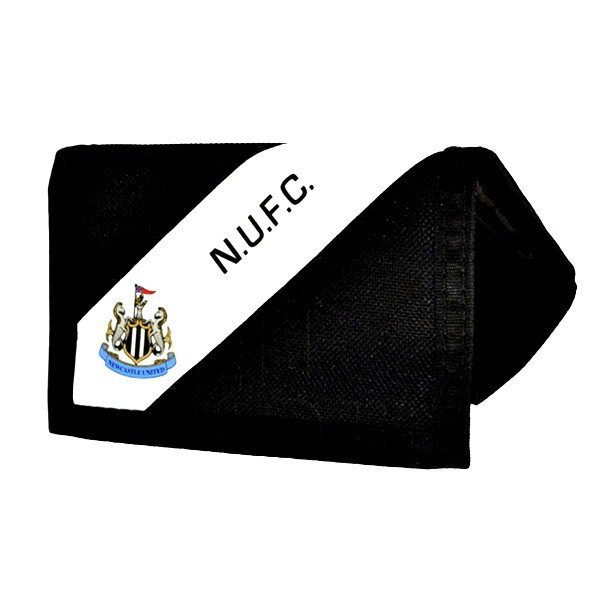 Newcastle United Stripe Nylon Wallet