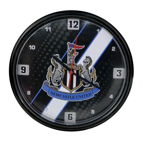 Newcastle United Stripe Wall Clock