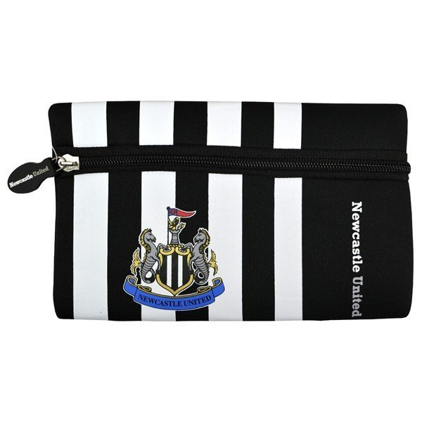 Newcastle United Wordmark Flat Pencil Case