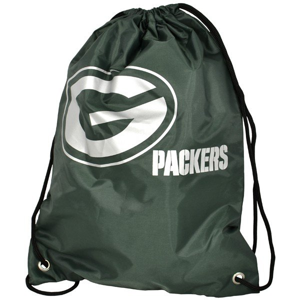 NFL Green Bay Packers Foil Print Gym Bag