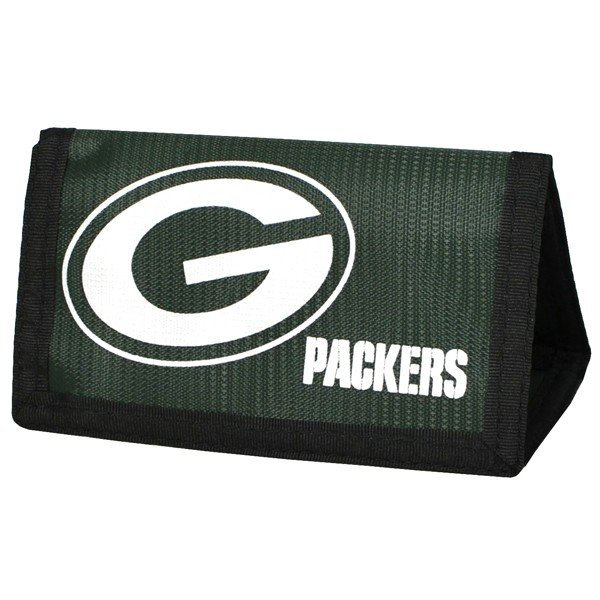 NFL Green Bay Packers Foil Print Nylon Wallet