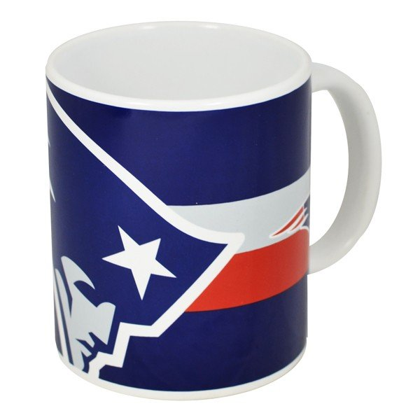 NFL New England Patriots Big Crest 11oz Mug