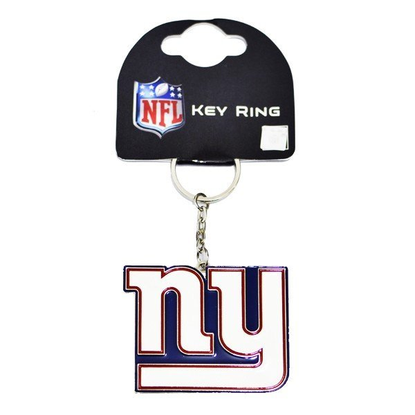 NFL New York Giants Crest Keyring