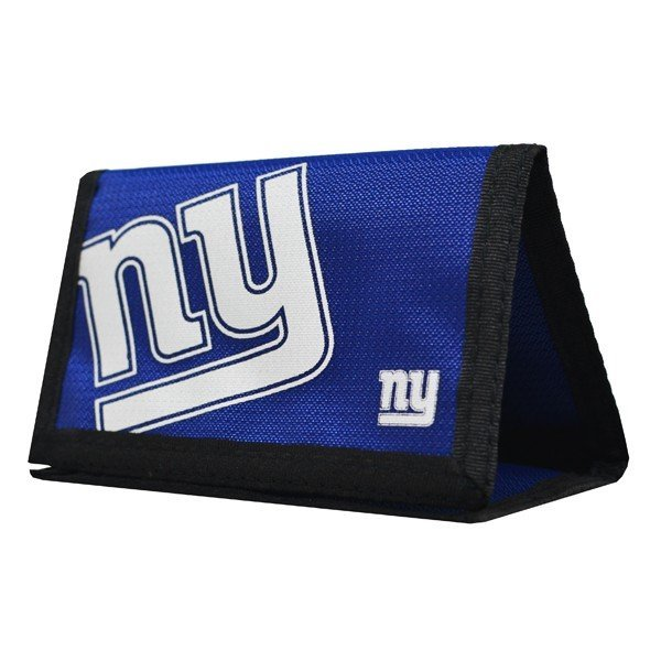 NFL New York Giants Foil Print Nylon Wallet