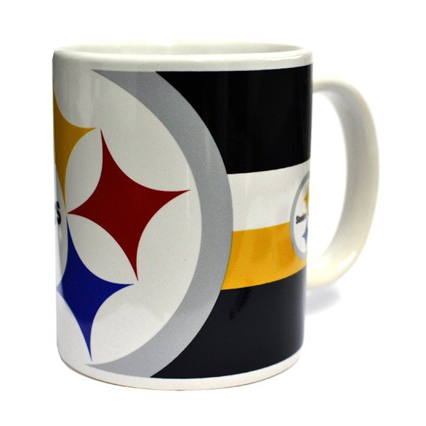 NFL Pittsburgh Steelers Big Crest 11oz Mug