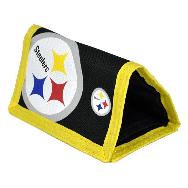 NFL Pittsburgh Steelers Big Logo Nylon Wallet