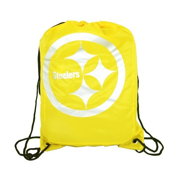NFL Pittsburgh Steelers Foil Print Gym Bag