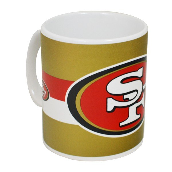 NFL San Francisco 49ERS Big Crest 11oz Mug