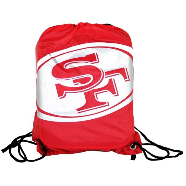 NFL San Francisco 49ERS Foil Print Gym Bag
