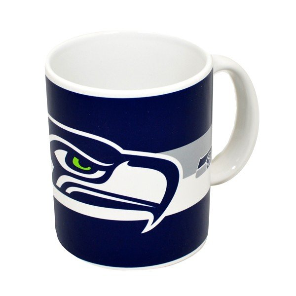 NFL Seattle Seahawks Big Crest Mug