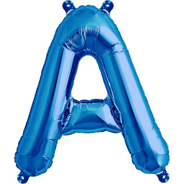 NorthStar 16 Inch Letter Balloon A Blue