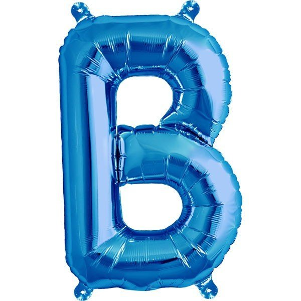 NorthStar 16 Inch Letter Balloon B Blue