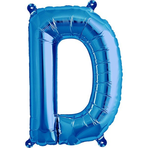 NorthStar 16 Inch Letter Balloon D Blue