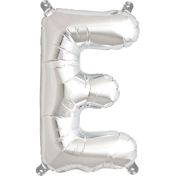 NorthStar 16 Inch Letter Balloon E Silver