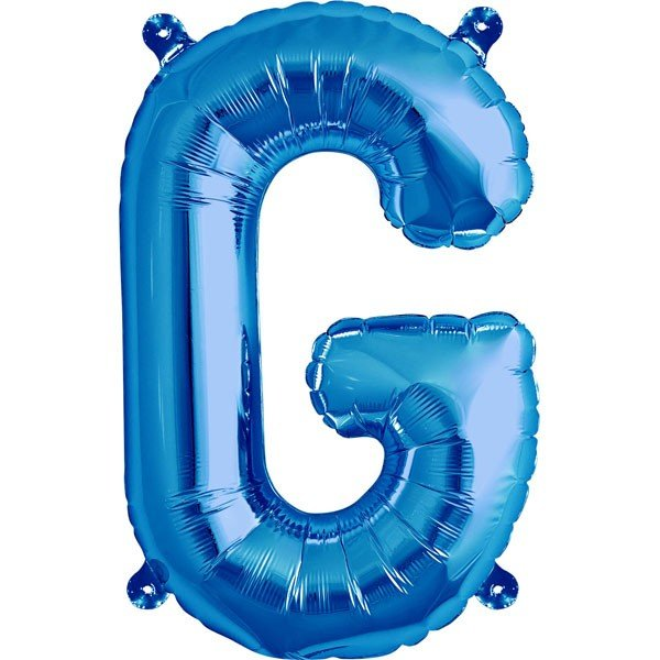 NorthStar 16 Inch Letter Balloon G Blue