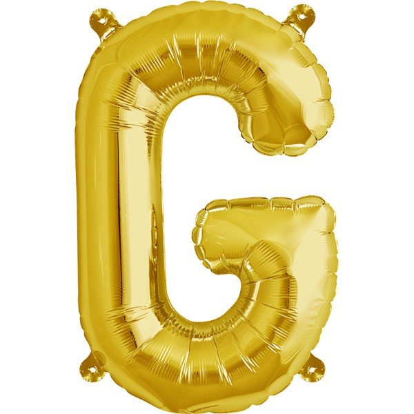 NorthStar 16 Inch Letter Balloon G Gold