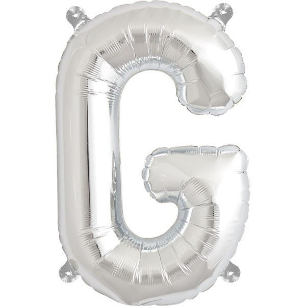 NorthStar 16 Inch Letter Balloon G Silver