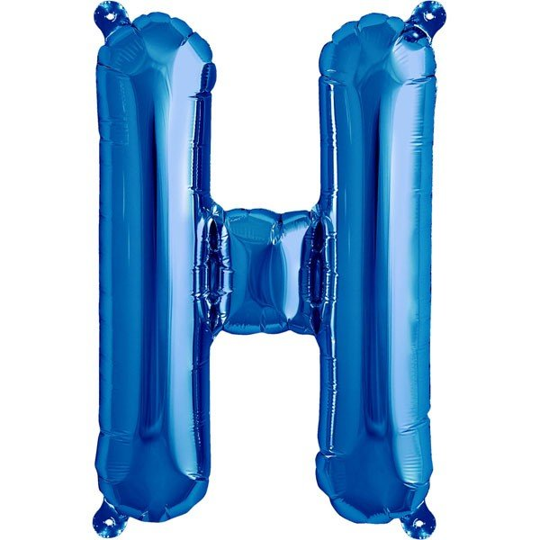 NorthStar 16 Inch Letter Balloon H Blue
